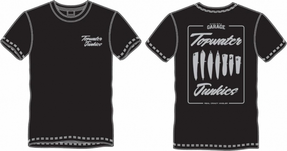 Exclusive AG Topwater Junkies Cotton T-Shirt Black